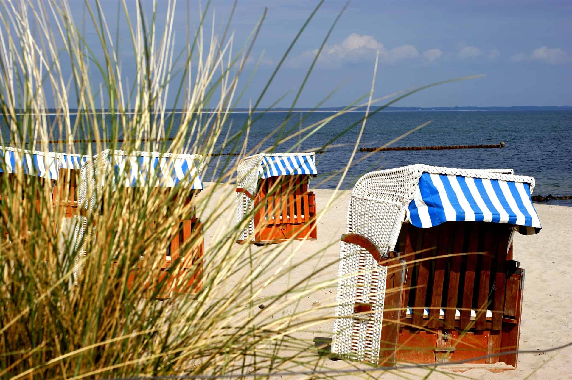 Strandkorb Ferienwohnung Meerzeitperle Rügen