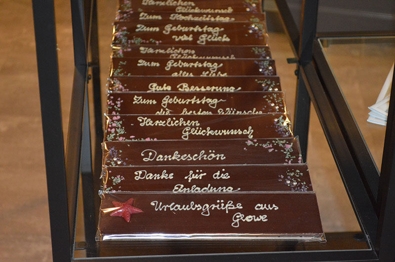 Schokolade in der Schokoladen-Manufaktur Choco la vie